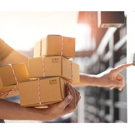 ishop worldwide parcel delivered at doorstep